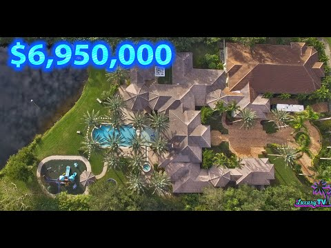 Inside $6.9 Million Compound W/ Miami Heat Basketball Court | 6023 Le Lac (EXTENDED)