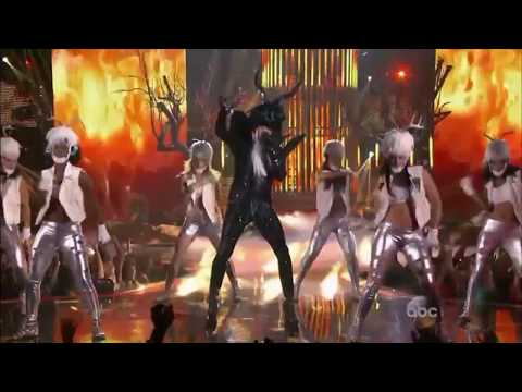 Sebastian Bach as Lady Gaga - Sing Your Face Off 2014