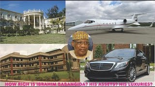 How rich is Ibrahim Babangida? ► All Babangida's Private Jets, Mansion, Cars, Companies & Luxuries
