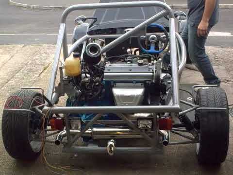Mev Rocket Kit Car The First Statr Up Youtube