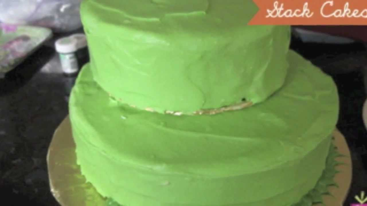 How To Make A Fairy Tinkerbell Birthday Cake Youtube