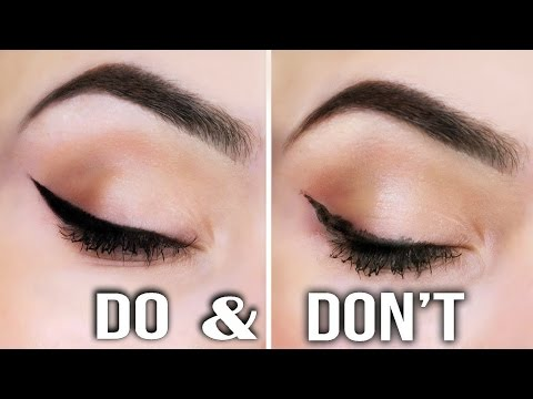 2 EASY EYELINER HACKS For Perfect Winged Eyeliner ! thumbnail