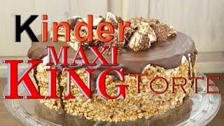 Kinder MAXI KING Torte Backen - Leckere TORTEN Selber Machen - Karamell Einfach & Schnell Zubereiten