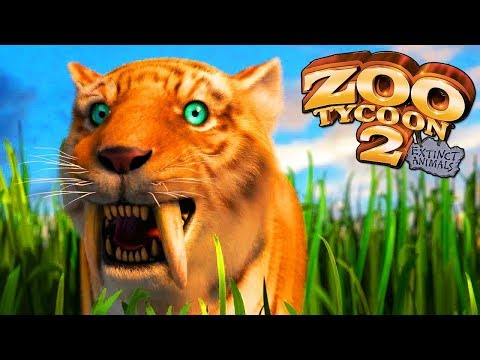 Zoo Tycoon 2 Extinct Animals | A Tour Of My Zoo Park |