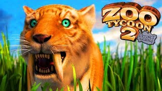 Zoo Tycoon 2 Extinct Animals | A Tour Of My Zoo Park