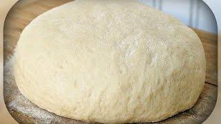 тесто на кефире,  для пиццы и пирога