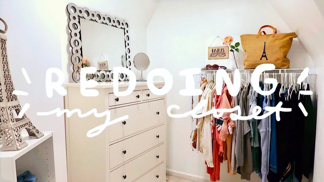 Redoing My Closet The Good Bad Ugly