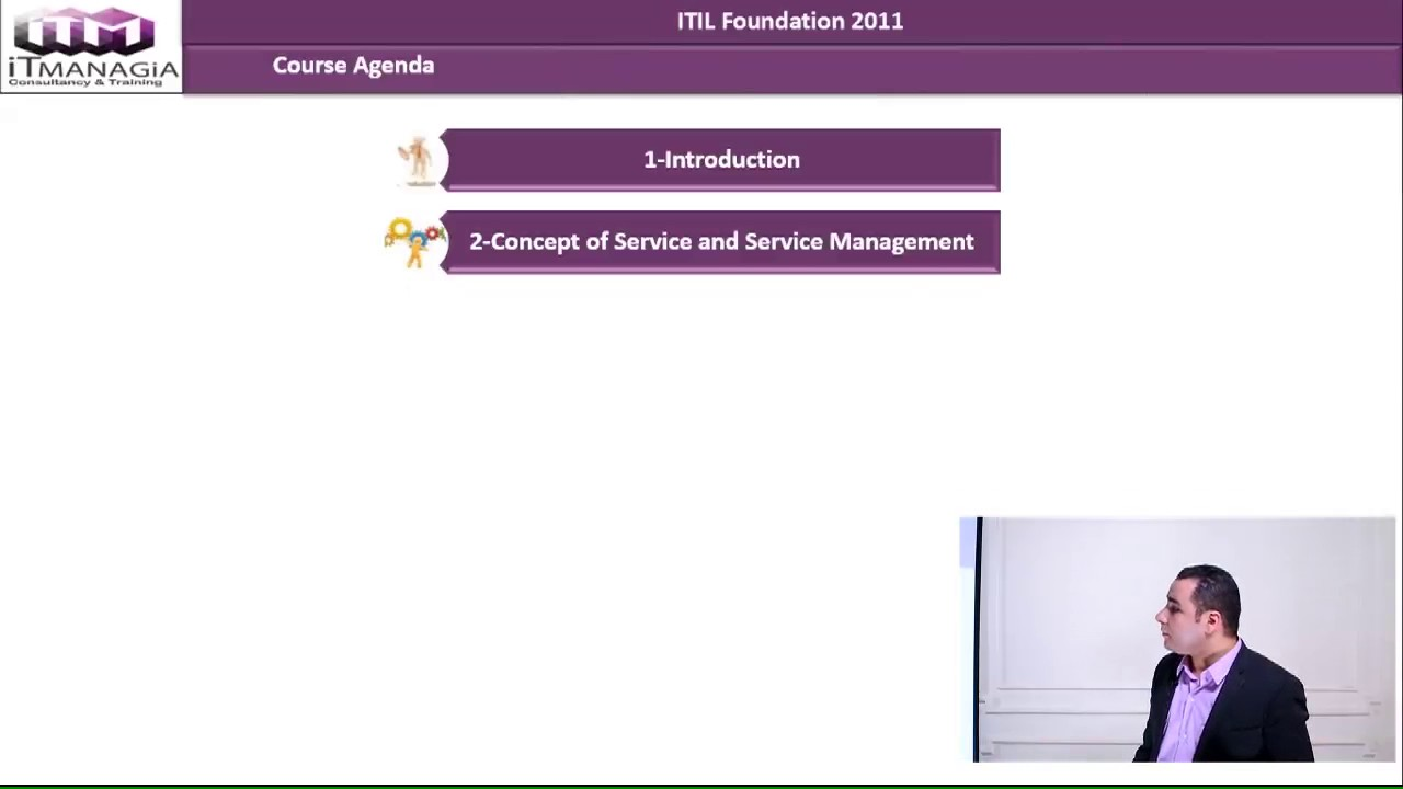itil course outline
