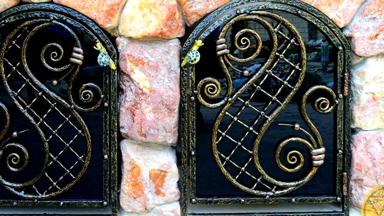 Каминные дверцы ЖАРКО - YouTube