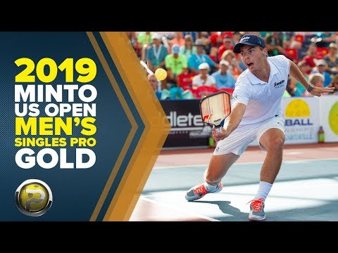 Men's Singles PRO Gold Match - 2019 Minto US Open Pickleball Championships