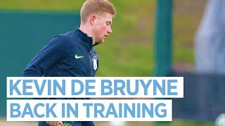 Happy 2019! KEVIN DE BRUYNE IS BACK | Training day before Liverpool game