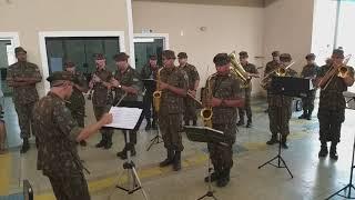 Rio Pardo/RO. A Banda e o Exército. Vídeo 381 - Deus seja louvado