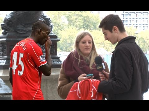 Trying To Swap A Balotelli Liverpool Shirt In Public