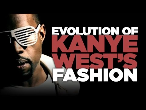 Evolution of Kanye West's Fashion