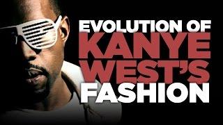Evolution of Kanye West