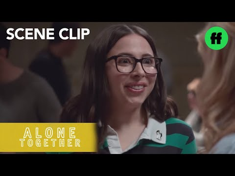 Alone Together   Season 2, Episode 8: Benji And Esther Try To Mingle At Their New Gig   Freeform
