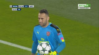 David Ospina Vs Paris Saint Germain (Away) UCL 2016-17 HD 720p