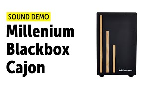 millenium blackbox cajon sound demo