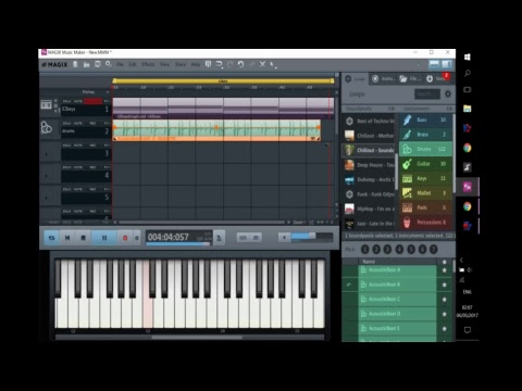 Magix MUSIC Maker - How to Make Music Easy and Free (Video Test Live Stream)