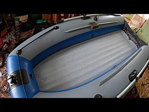 Коврик в лодку пвх с нднд своими руками видео