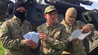 Zonguldak'taki muhtarlardan Afrin operasyonuna yerinde destek...