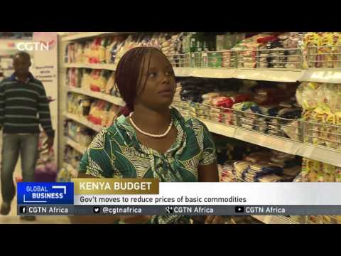Kenyan gov't moves to reduce prices of basic commodities