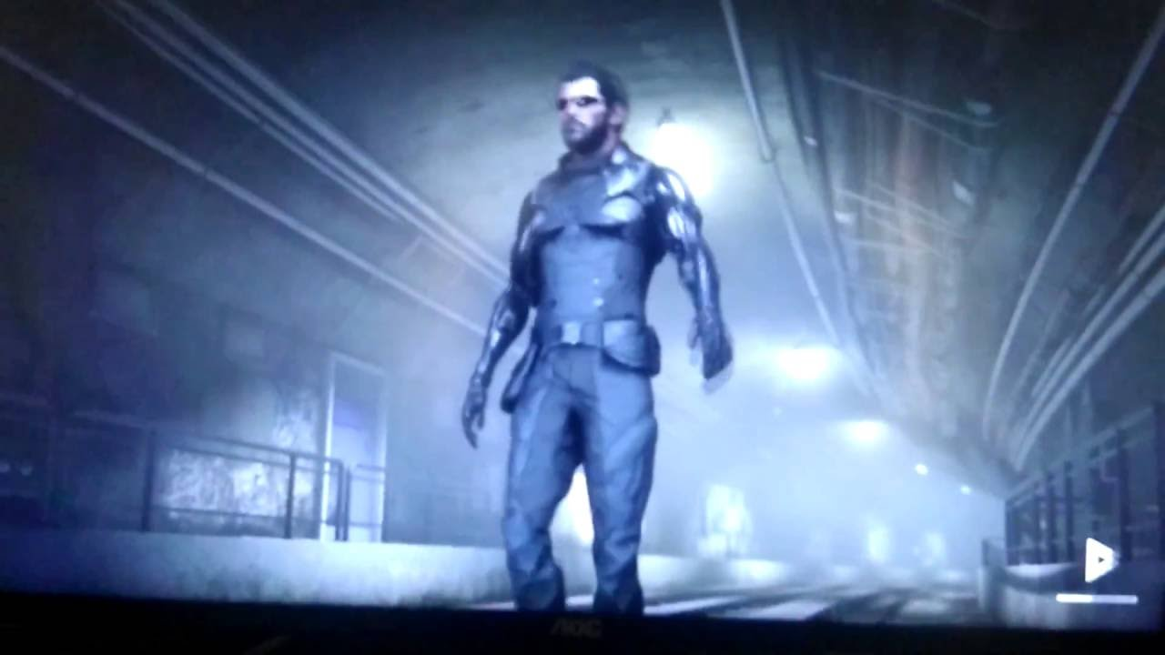 Deus Ex Mankind Divided Crash During Subway Loading Scene