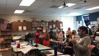 """White Ribbon Week """"I AM POWERFUL!"""" Chant video for Heritage Elementary School"""
