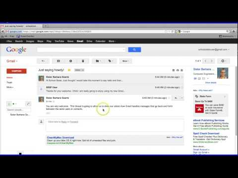 Conversations in Gmail (Threads)