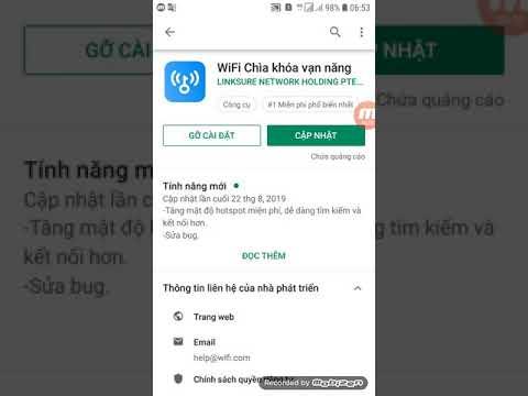 Sử dụng wifi miễn phí với ứng dụng chìa khóa vạn năng