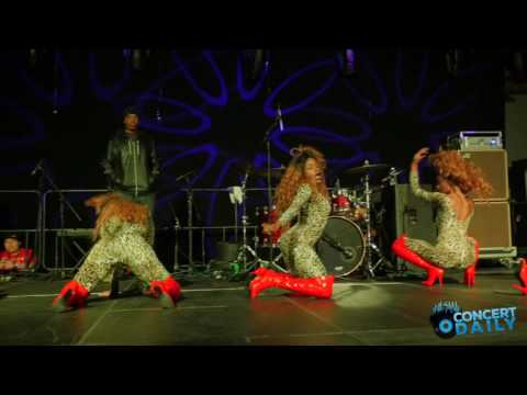 "Trina performs ""Pull Over"" live at Bowie State University Homecoming Concert"
