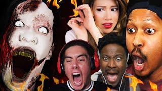 THE MOST JUMPSCARES EVER. | Devour w/ @Gloom, @Kubz Scouts & @POiiSED