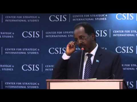 Hassan Sheikh Mahamud, President of the Federal Republic of Somalia PA 2