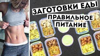 ЗАГОТОВКА ЕДЫ на 3 ДНЯ🍏ПРАВИЛЬНОЕ ПИТАНИЕ💪Простые ПП рецепты MEAL PREP by Olya Pins