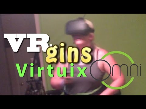Virtuix Omni VRgins First Time Gameplay Collection