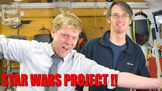 Big STAR WARS Project with COLIN FURZE !!!  | XRobots
