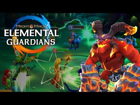 MIGHT AND MAGIC: ELEMENTAL GUARDIANS | NEW UBISOFT GAME | MOBILE RPG