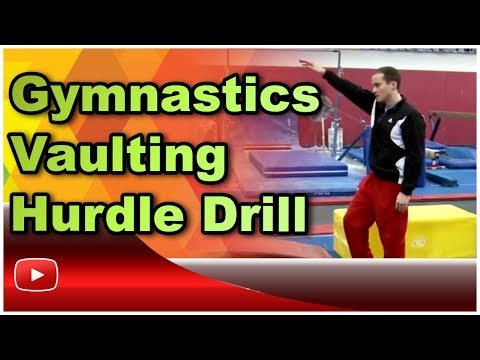 Gymnastics Vaulting Hurdle Drill featuring Olympic Gold Medalist Paul Hamm