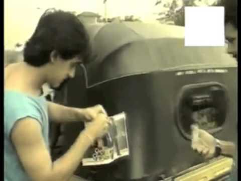 Aamir Khan promoting his first film QSQT