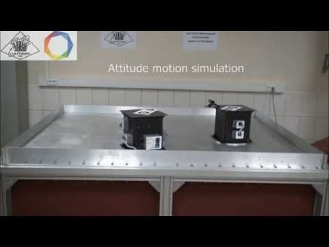 Facility for algorithms of small satellites motion-in-formation control system study