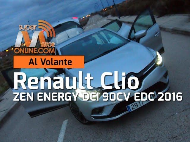 Renault Clio 2016 / Al volante / Prueba dinámica / Review / Supermotoronline.com