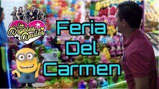 MINION Y ANGELES AZULES - Feria del carmen en Playa del carmen