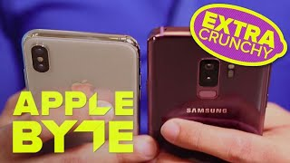 iPhone X is faster than the Galaxy S9 (Apple Byte Extra Crunchy, Ep. 121)