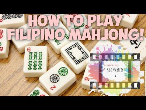 Filipino Mahjong Tutorial #1