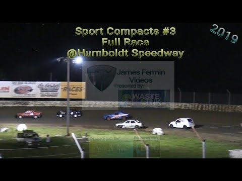 Sport Compacts #3, Full Race, Humboldt Speedway, 05/31/19