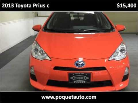 2013 toyota prius c used cars golden valley mn youtube for Poquet motors golden valley mn
