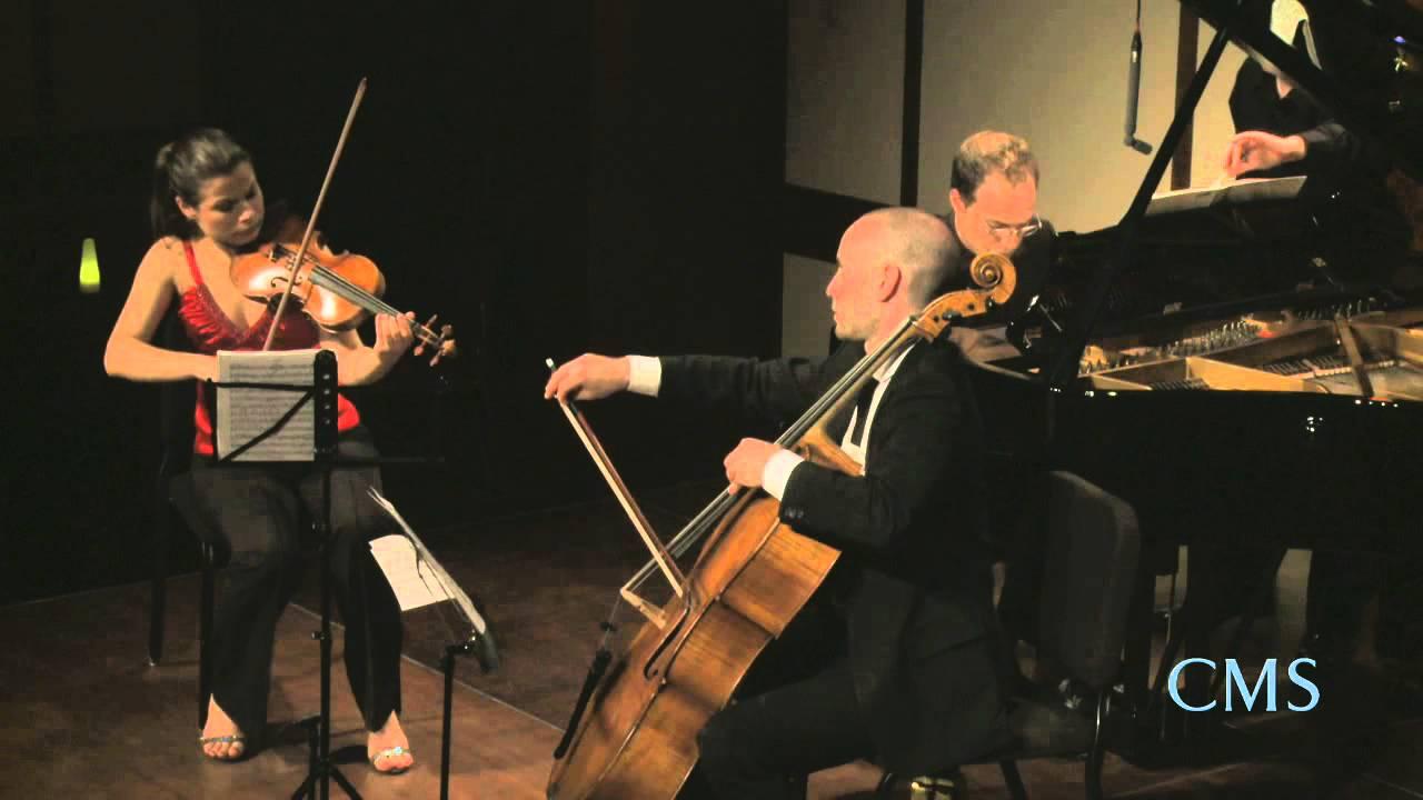Turina: Piano Trio No. 1 in D major, Op. 35 I. Prélude et Fugue