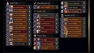 Eternal CCG - Praxis Tokens - Fall of Argenport