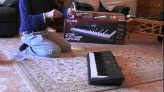 Casio CTK 3200 Unboxing (Piano Style Touch Response Keyboard)