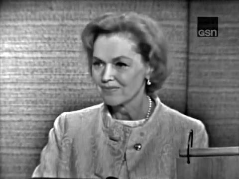 What's My Line? - Tribute to Dorothy Kilgallen - Maureen O' Sullivan (Nov 14, 1965) [W/ COMMERCIALS]